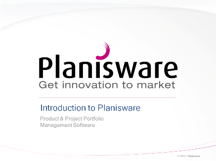 Planisware 1 Planisware