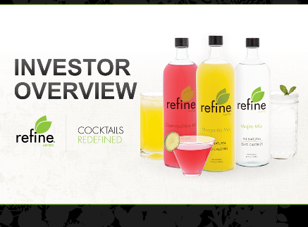 Refine 1 Refine Mixers 